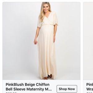 PinkBlush Maternity Dress